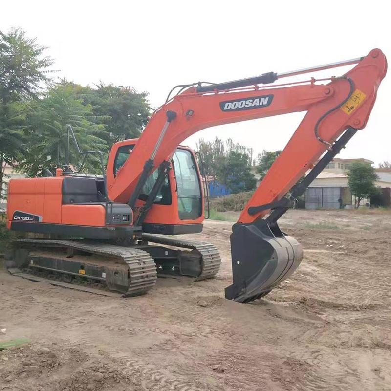 履带式挖掘机安全检验
